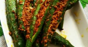 Stuffed Okra/Bhindi