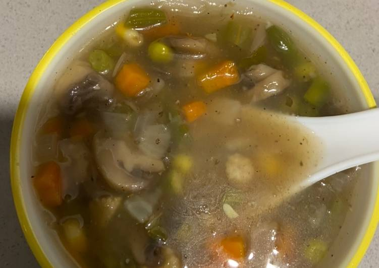Clear vegetable soup, Finding Nutritious Fast Food