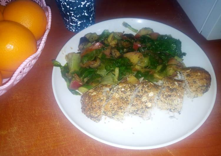Easiest Way to Make Quick Healthy veg meal