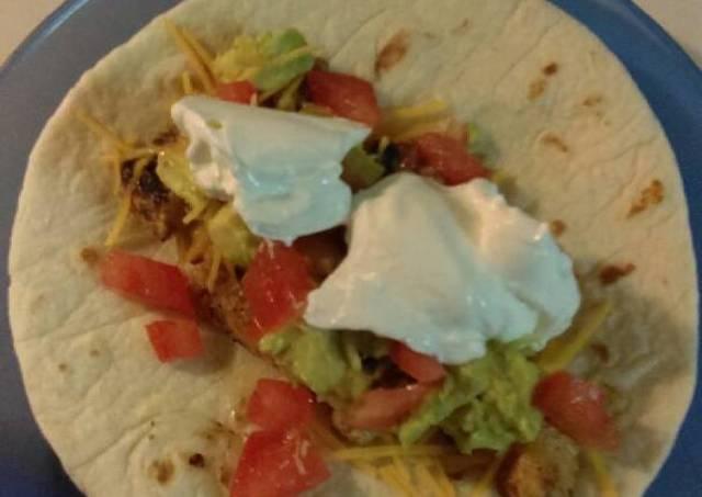 Balsamic/Rosemary Chicken Tacos