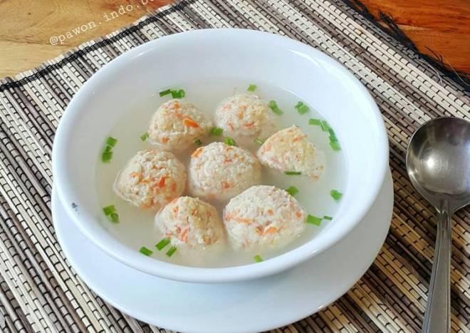Oatmeal Chicken Meatball