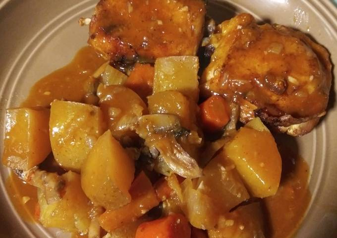 Recipe of Super Quick Homemade Crock pot Chicken and Veggies