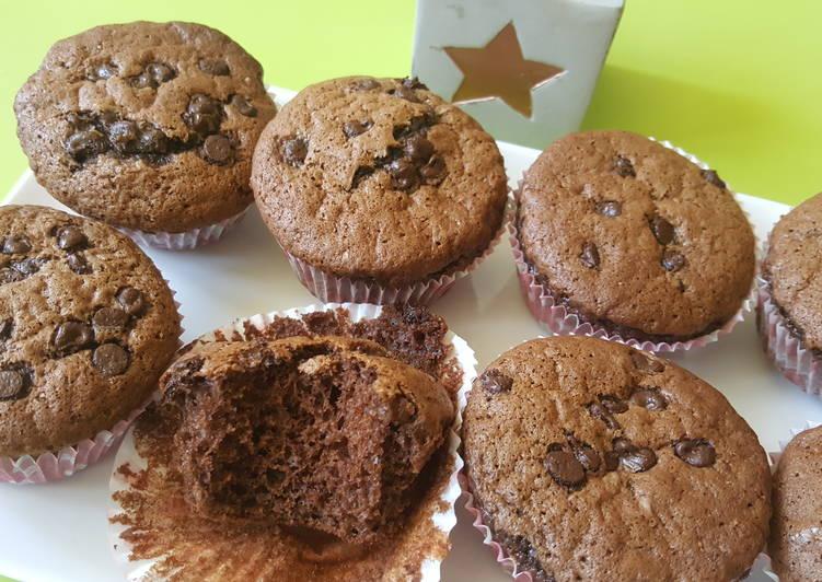 Muffins aux Chocolat