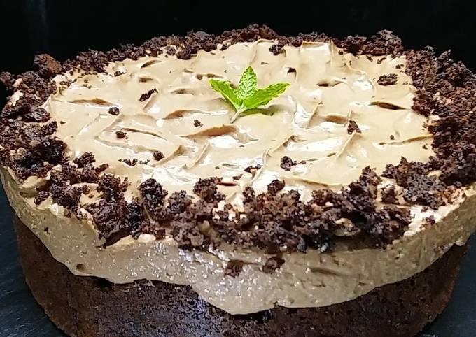 wie man Um Perfekte Brownie Schokoladecheesecake zuzubereiten