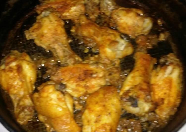 My Garlic Hot Wings
