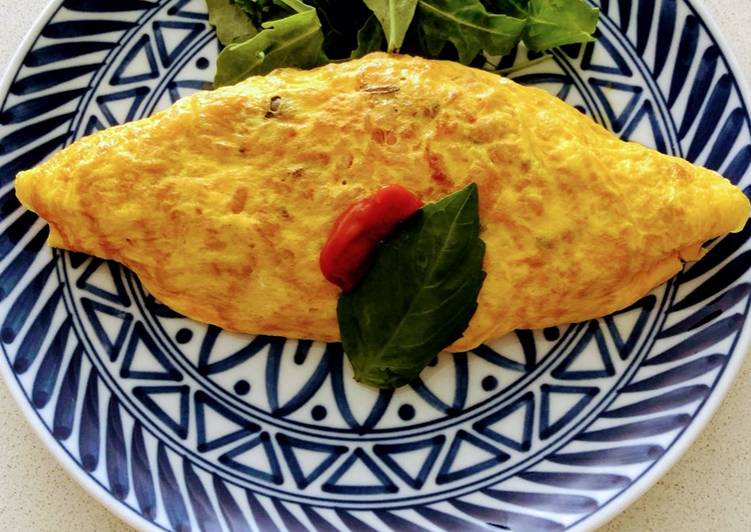 Omu rice  (Japanese style Rice omelette)