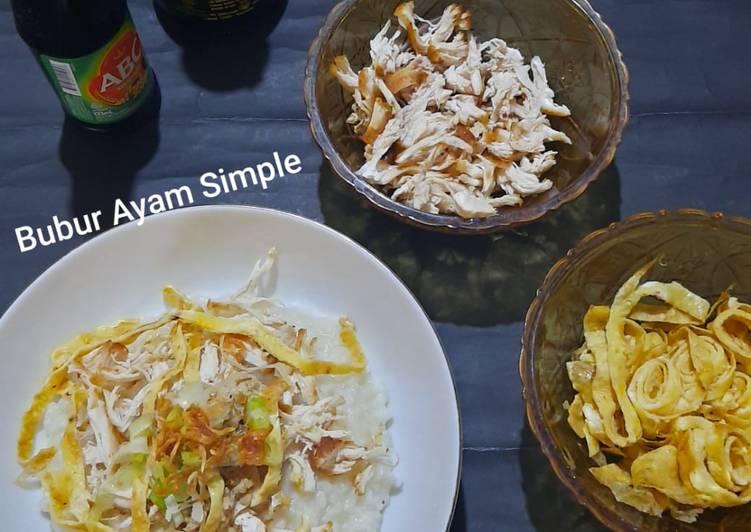 Bubur Ayam Simple