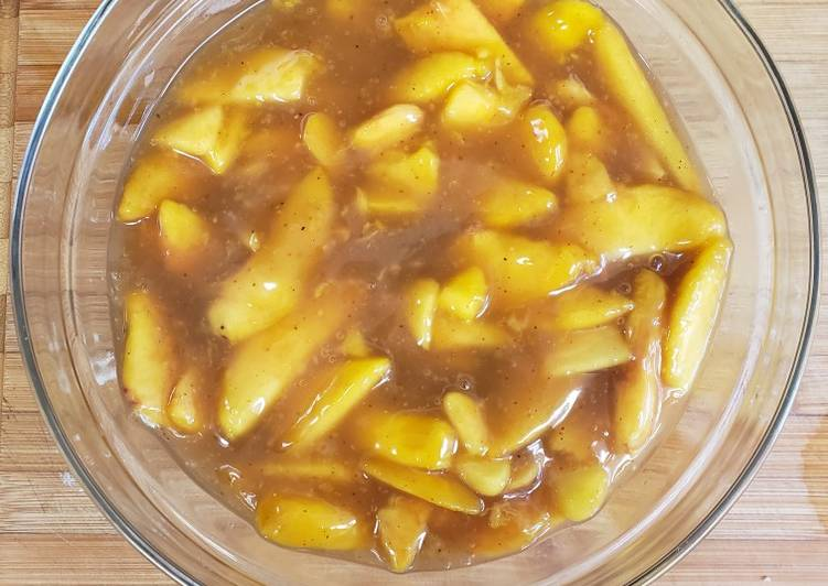 Peach or other fruit Pie Filling