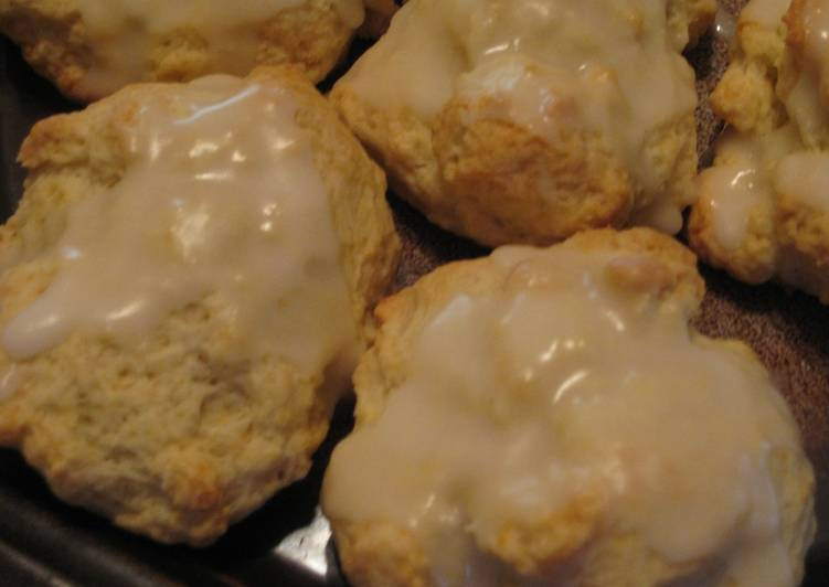 Recipe of Speedy Lemon Hot Biscuit (Scone)