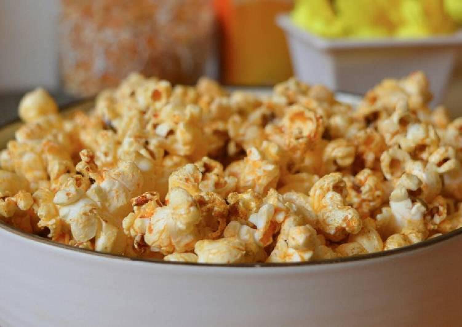 Paprika&Lime stovetop popcorns #CHARITYRECIPE