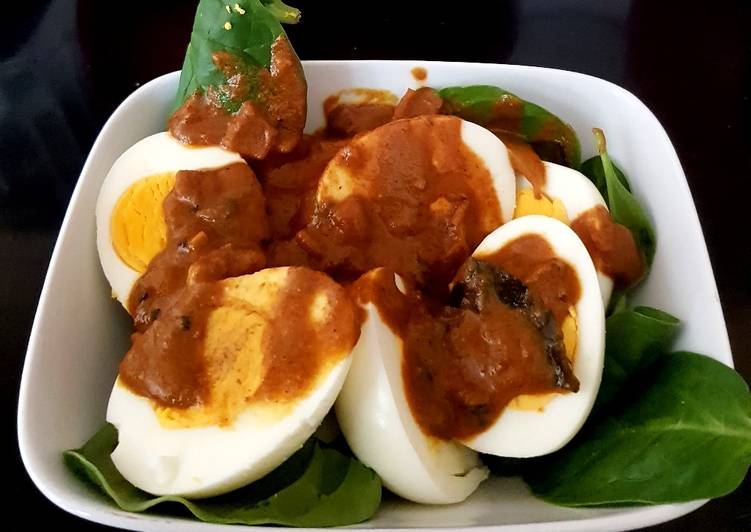 Simple Way to Prepare Super Quick Homemade My Egg & Curry Lunch. 😘