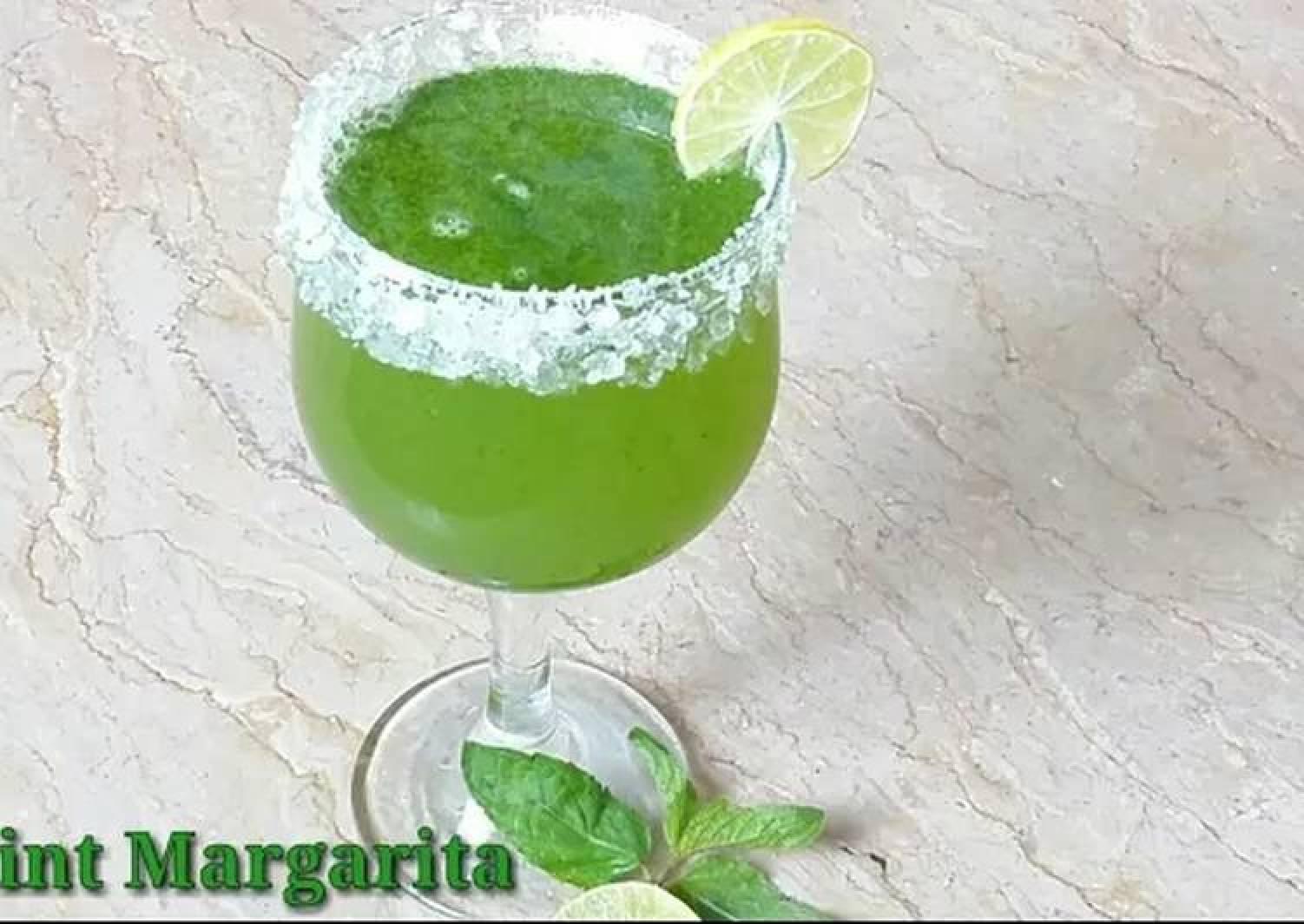 Summer drink Mint Margarita