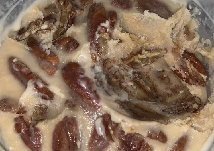 Pecan pie ice cream