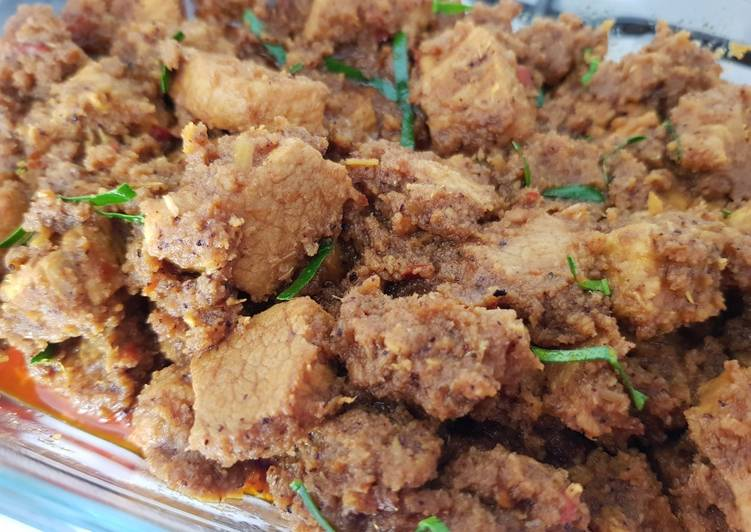 Beef Rendang Malaysian-Italian style