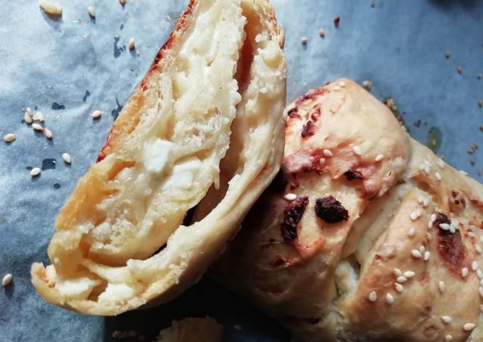wie man Um Hausgemachte Lecker Feta-Knoblauch-Brot zu machen