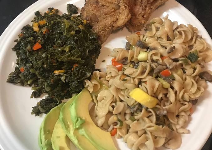 Recipe of Speedy Alkaline Dinner Plate
