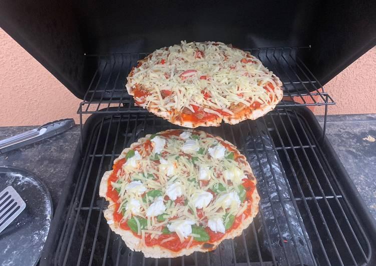 Simple Flatbread Pizza