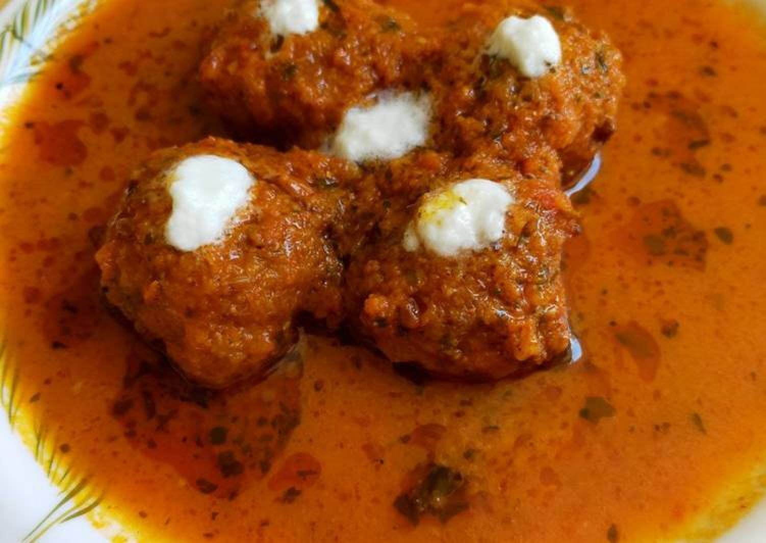 Cheese curd kofta