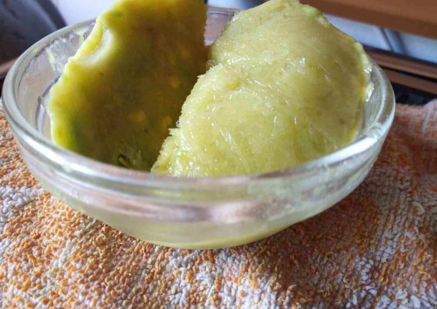 Avocado Lime Sorbet