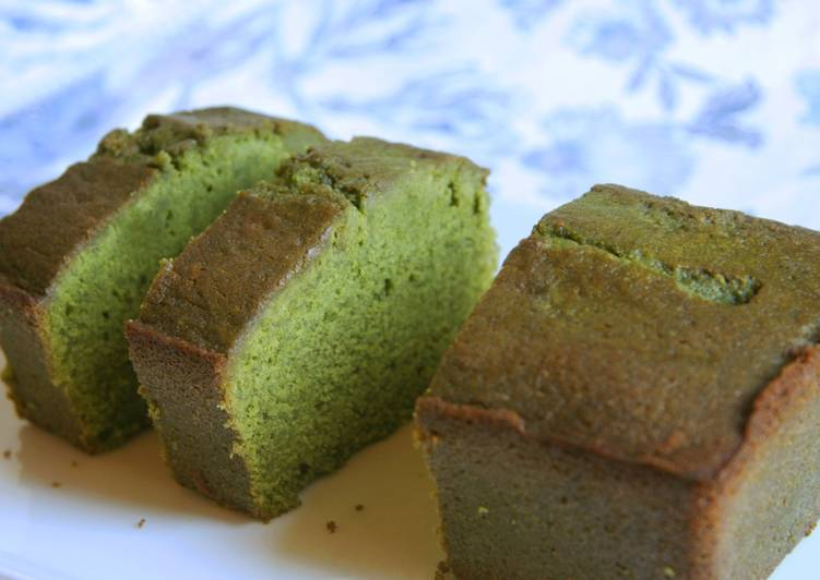 Steps to Make Ultimate Our best Matcha Pound Cake