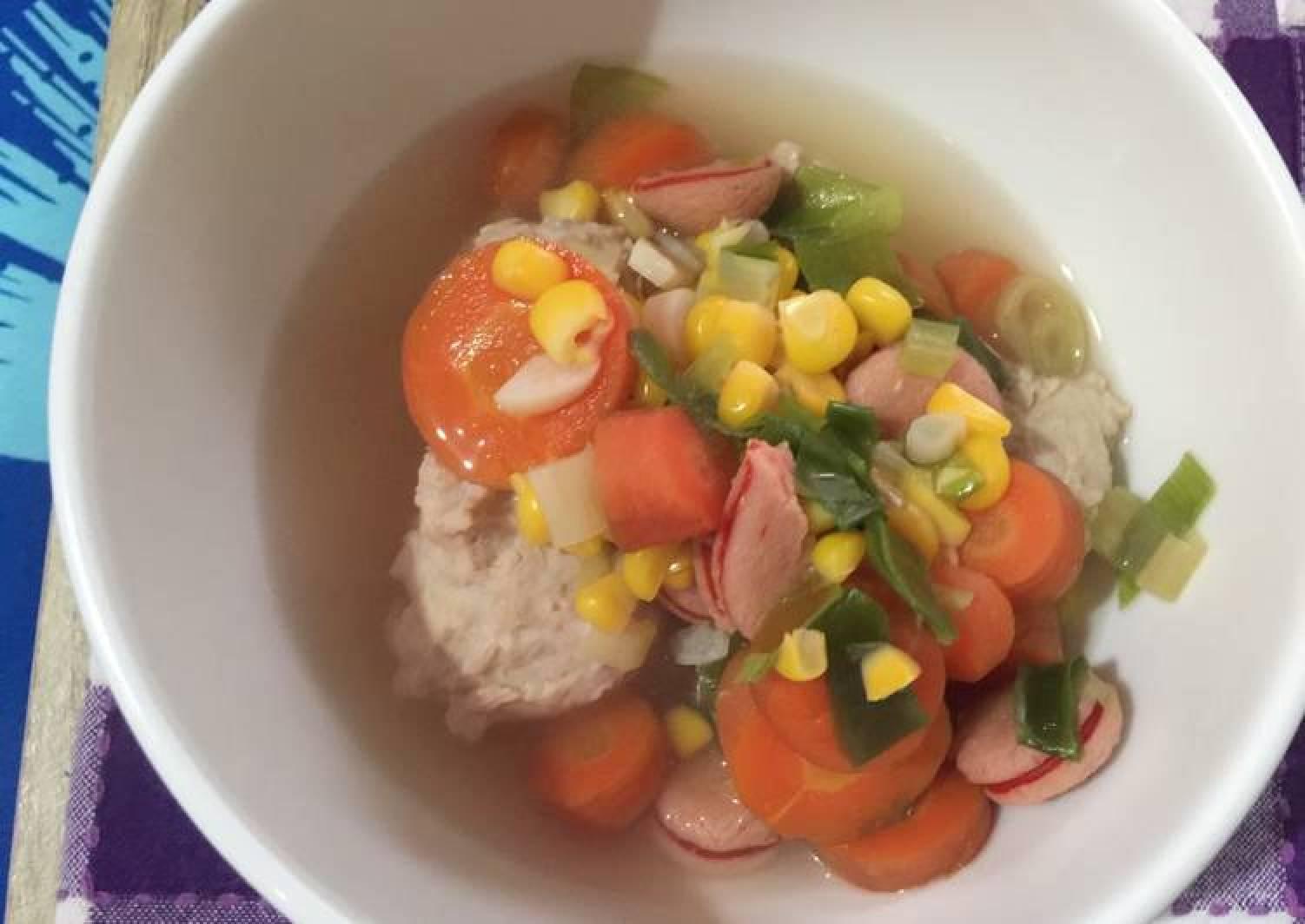 Chick medicinal soup