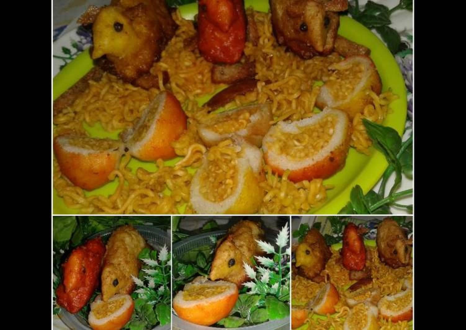 Noodles Rabbit with noodles modak