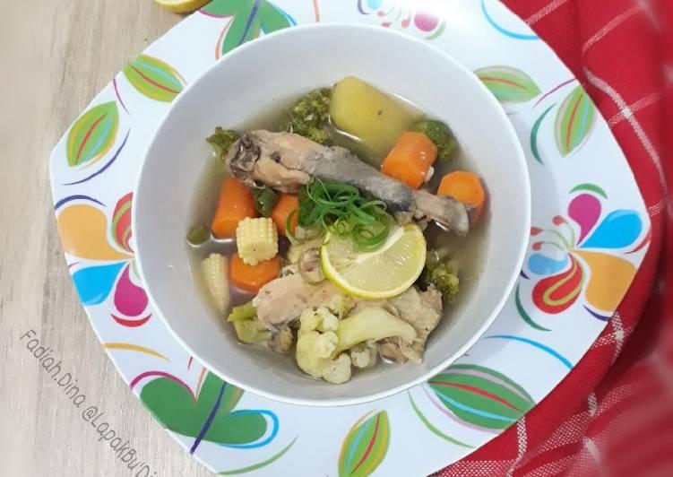 Sup Ayam Kampung Rempah