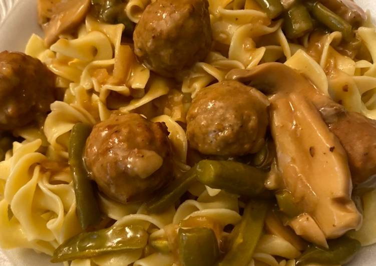 Slow Cooker Salisbury Steak Meatballs, Finding Healthy Fast Food