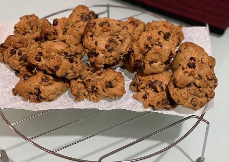 Soft Choco Chip Cookies