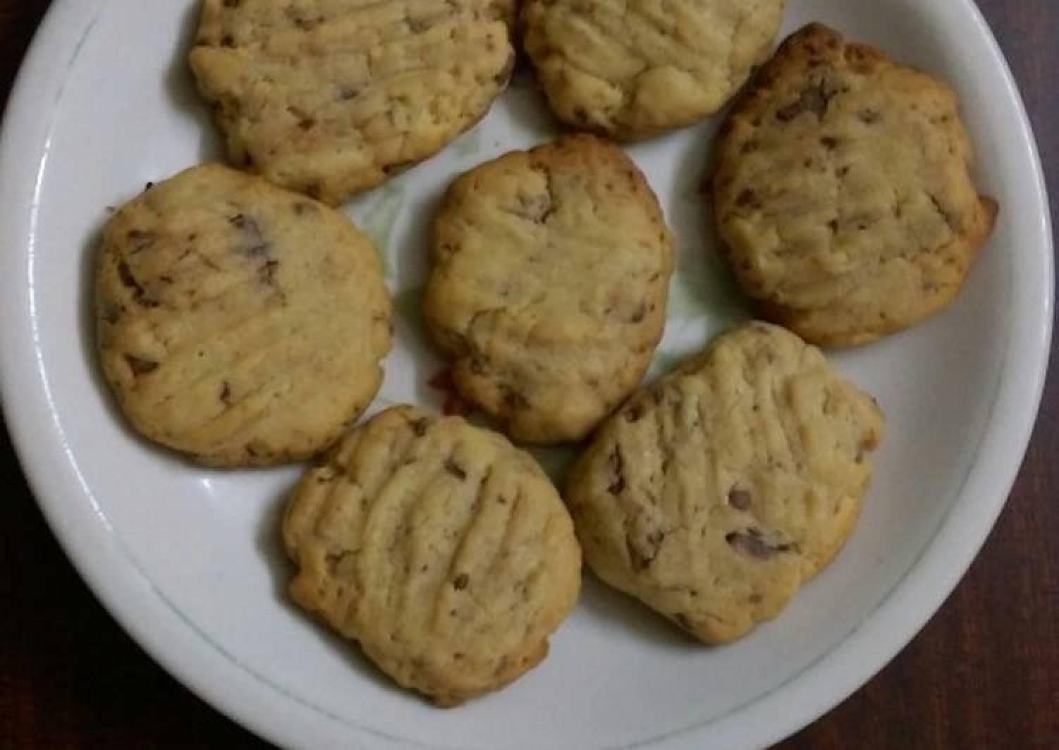 Chocolate chip cookies #4week's challenge