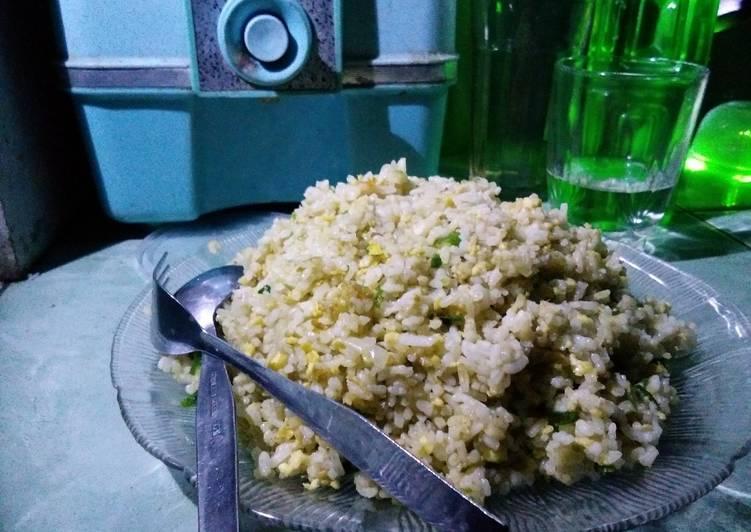 Nasi goreng telur cabe hijau ~ by NS