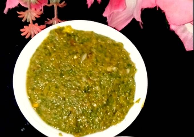 Recipe of Homemade Green pudina Chutney