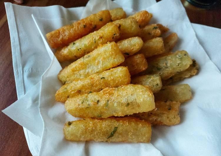Stik kentang keju