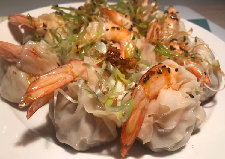 Pork & Prawn Prosperity Dumpling - Chinese New Year Dish - Chilli Oil