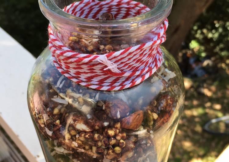 Choc Buckwheat Healthy Granola