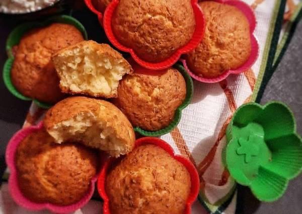 Творожные кексы - пошаговый рецепт с фото. Автор рецепта ...