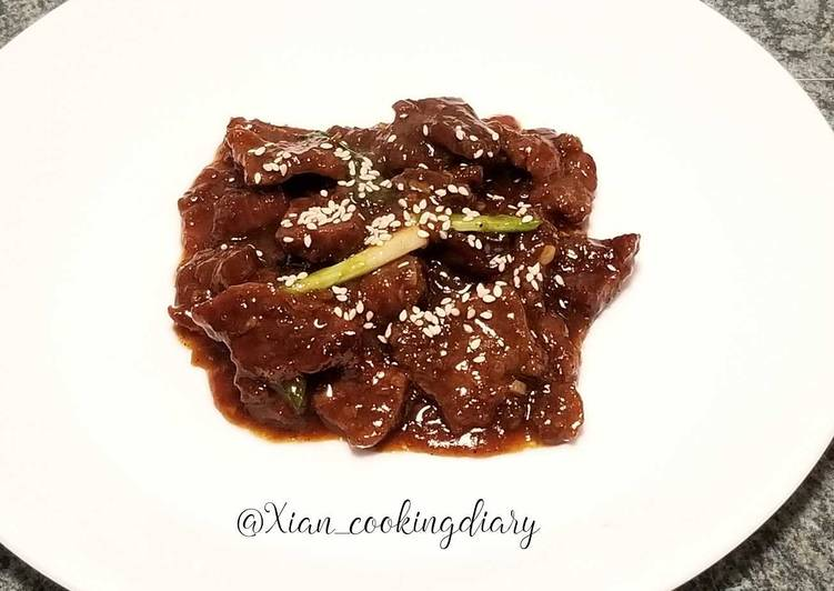 Mongolian Beef (蒙古牛肉), Finding Nutritious Fast Food
