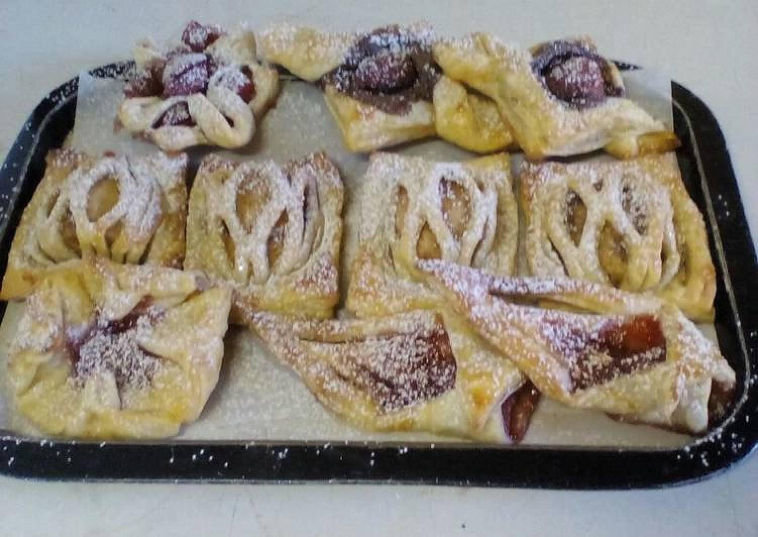 Puff pastry 4 ways