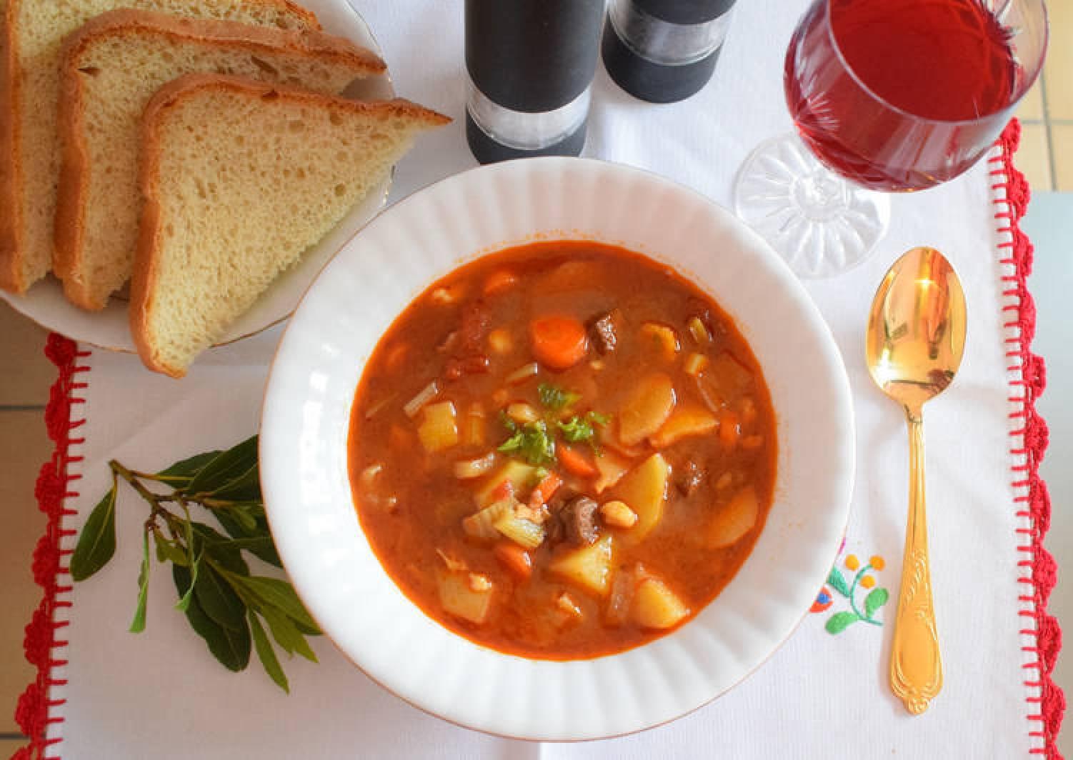 Gulyas Soup