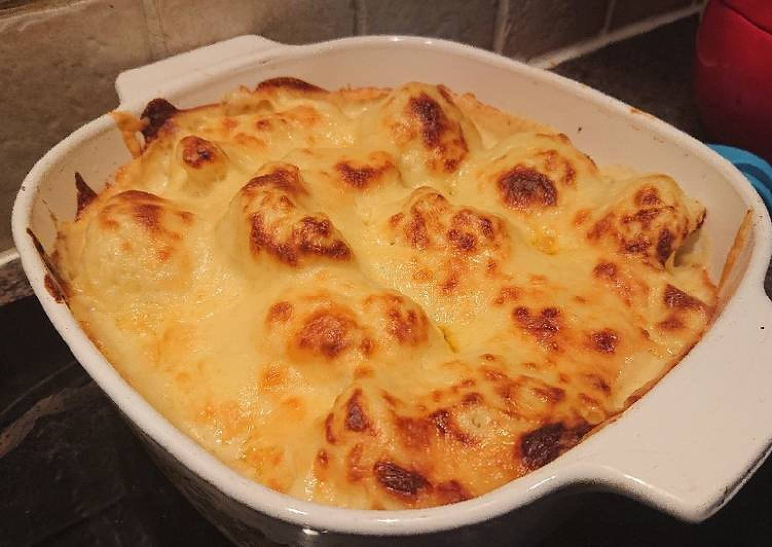 Cauliflower and Mustard Cheese