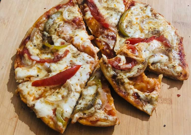 Italian pan pizza