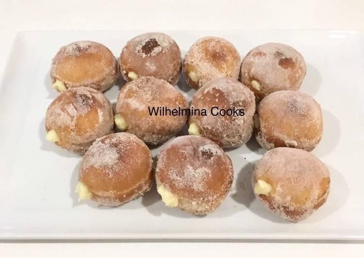 BOMBOLINI (Italian Donuts with Vanilla Pastry Cream)🇮🇹