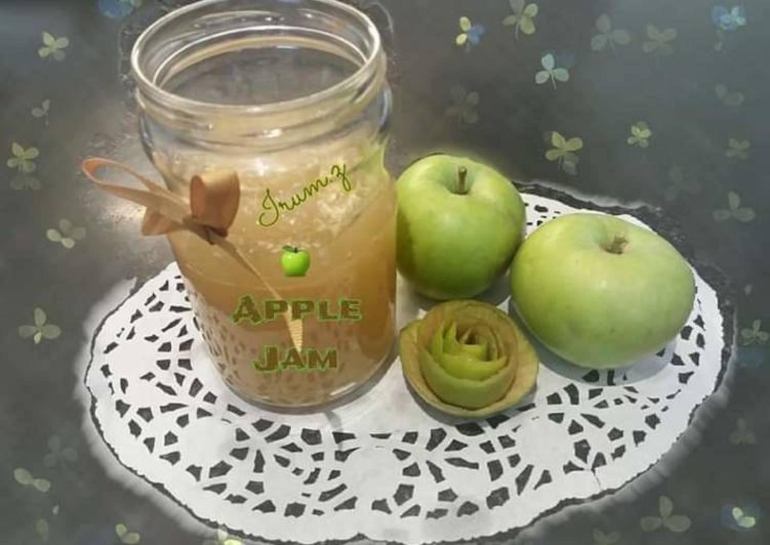 🍏🍎Homemade Apple Jam🍏🍎 (made from homegrown apples)