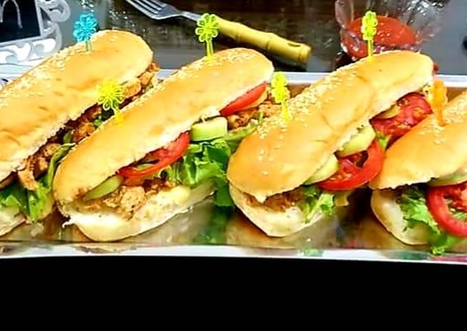 Easiest Way to Prepare Award-winning Chicken tikka sandwiches #Cookpadramadan