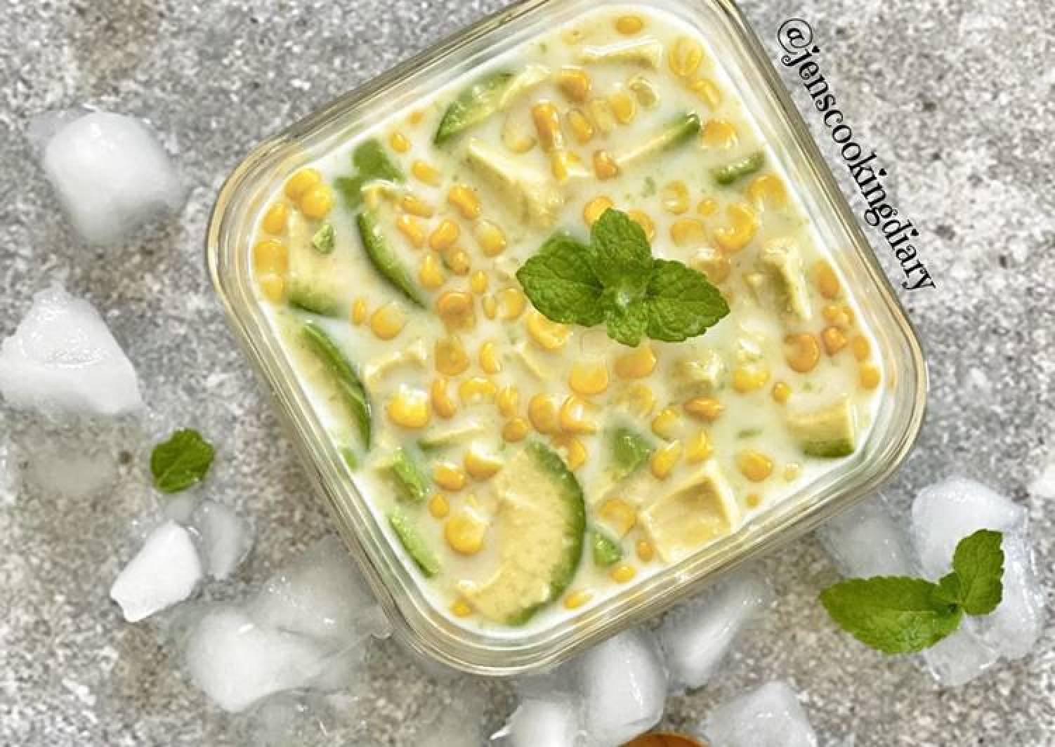Avocado Corn Ice