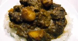 Filipino beef curry