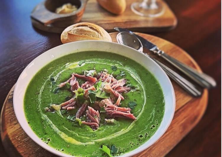 Emilys Pea and Ham soup  EASY PEASEY RECIPE