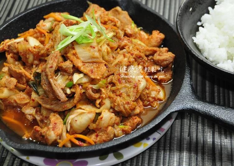 金箔的健康煮 發表的 韓式泡菜豬肉 食譜 - Cookpad