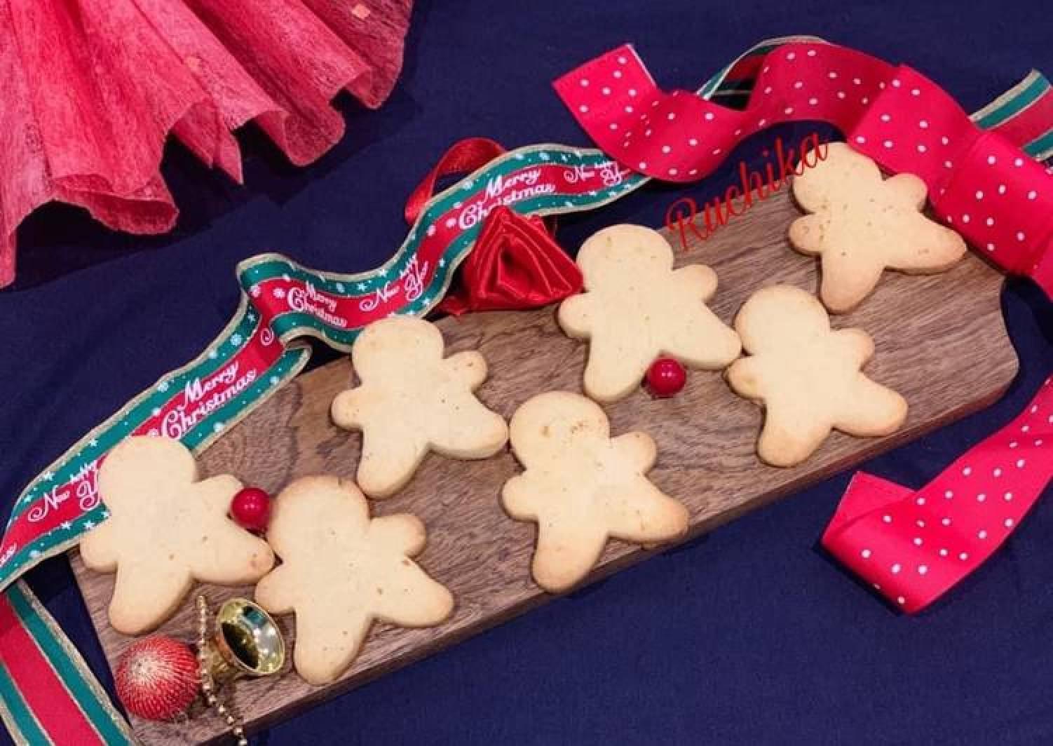 Gingerbread Man shortbread cookies