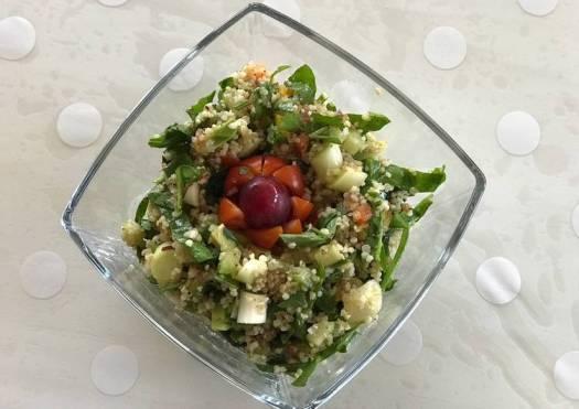 Quinoa and couscous salad
